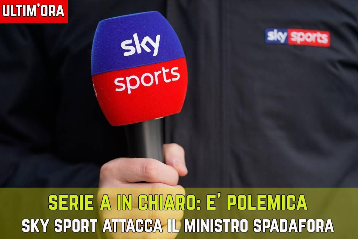Serie A in chiaro Sky