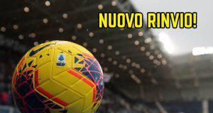 Rinvio Sampdoria-Verona