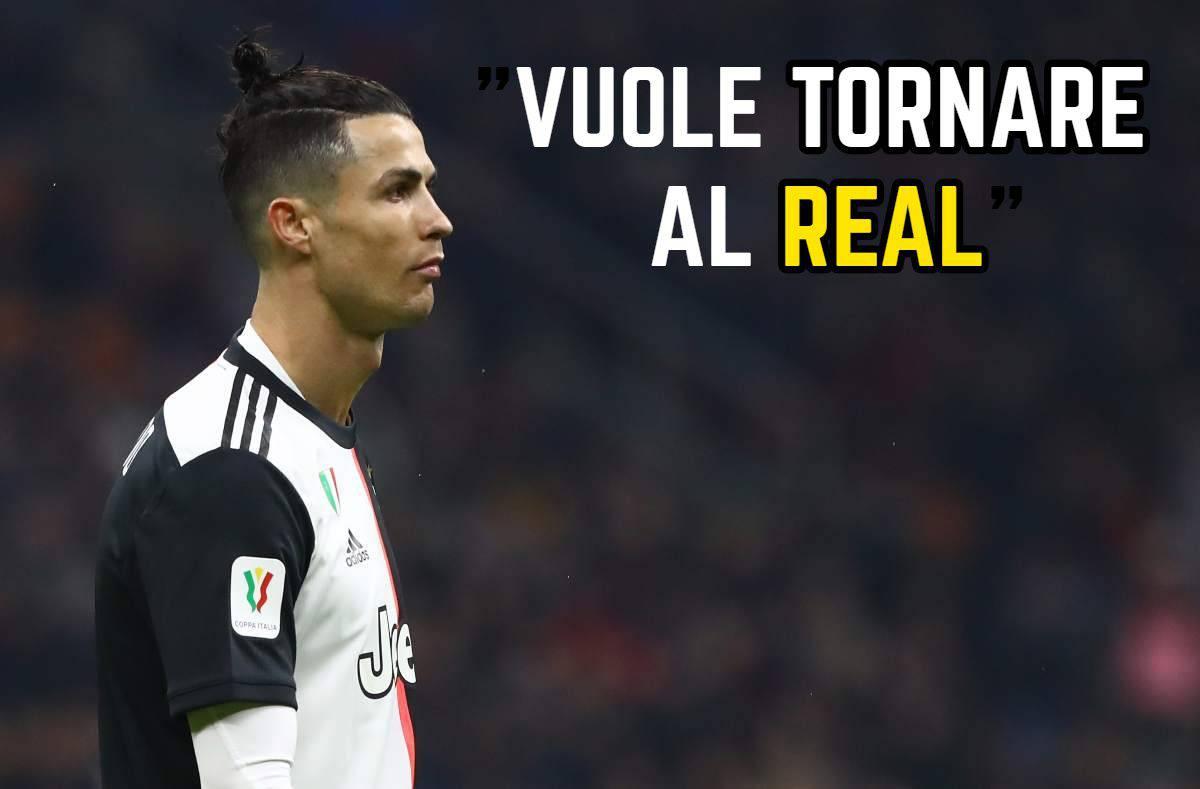 Sky - Ronaldo in Portogallo dalla madre: può saltare Juventus-Milan