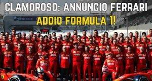 Ferrari addio Formula 1