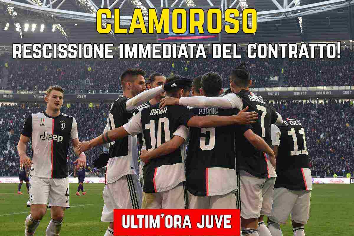 Juventus rescissione contratto