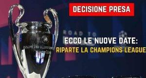 Ripresa Champions League