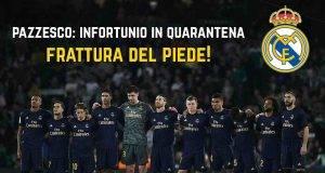 Real Madrid infortunio quarantena