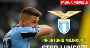 Infortunio Milinkovic