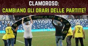 Serie A orari partite