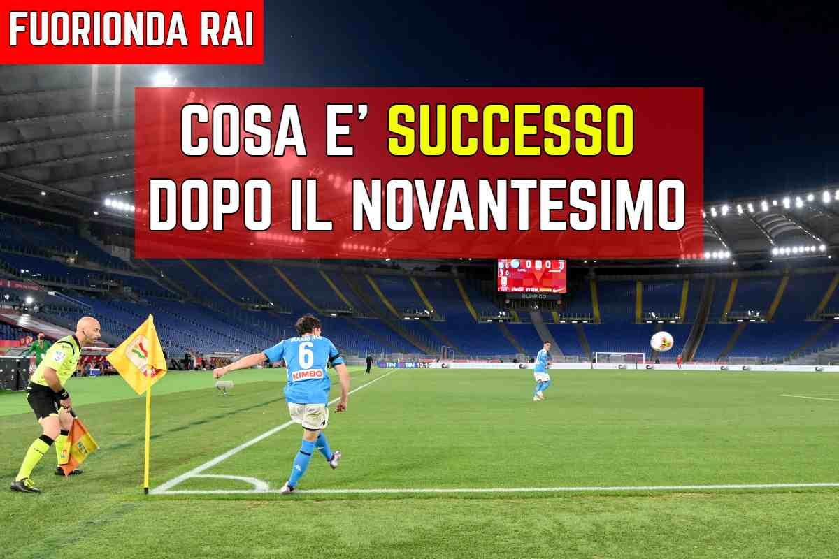 Coppa Italia fuorionda