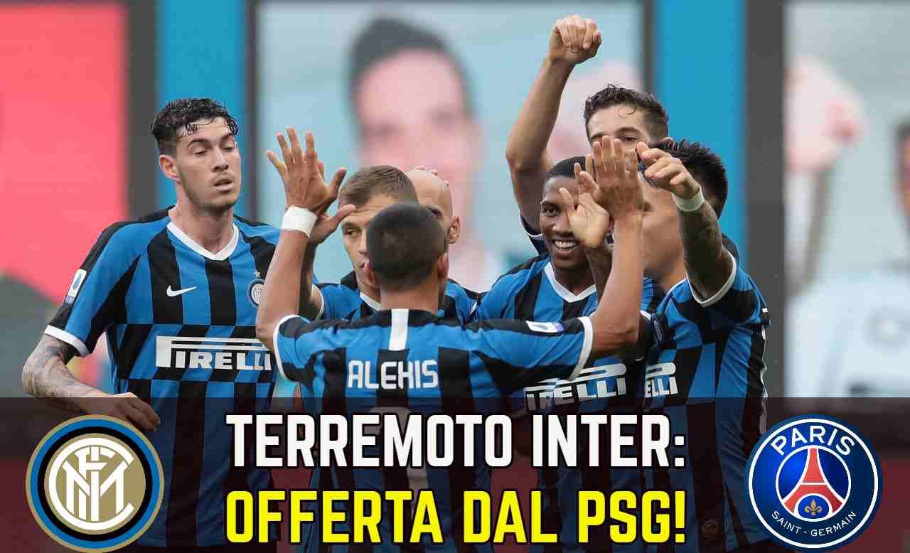 Calciomercato Inter PSG