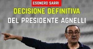 Esonero Sarri
