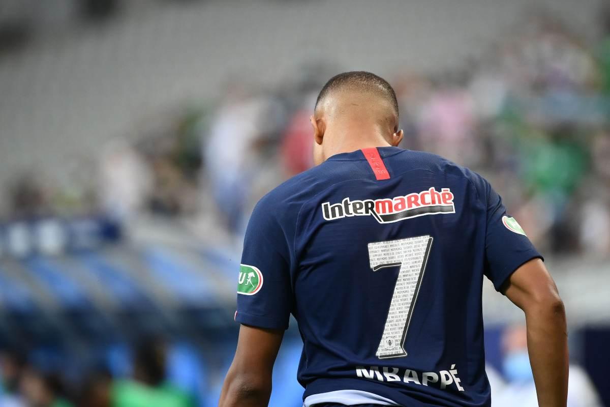 Mbappé Atalanta-PSG