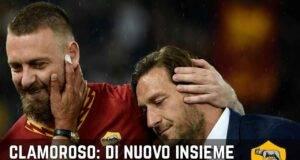 Totti De Rossi Roma
