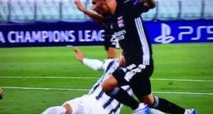 Juventus-Lione rigore