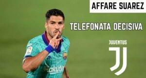 suarez juventus telefonata Barcellona