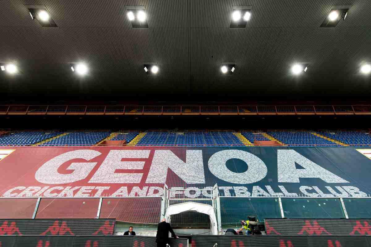 Genoa tifosi