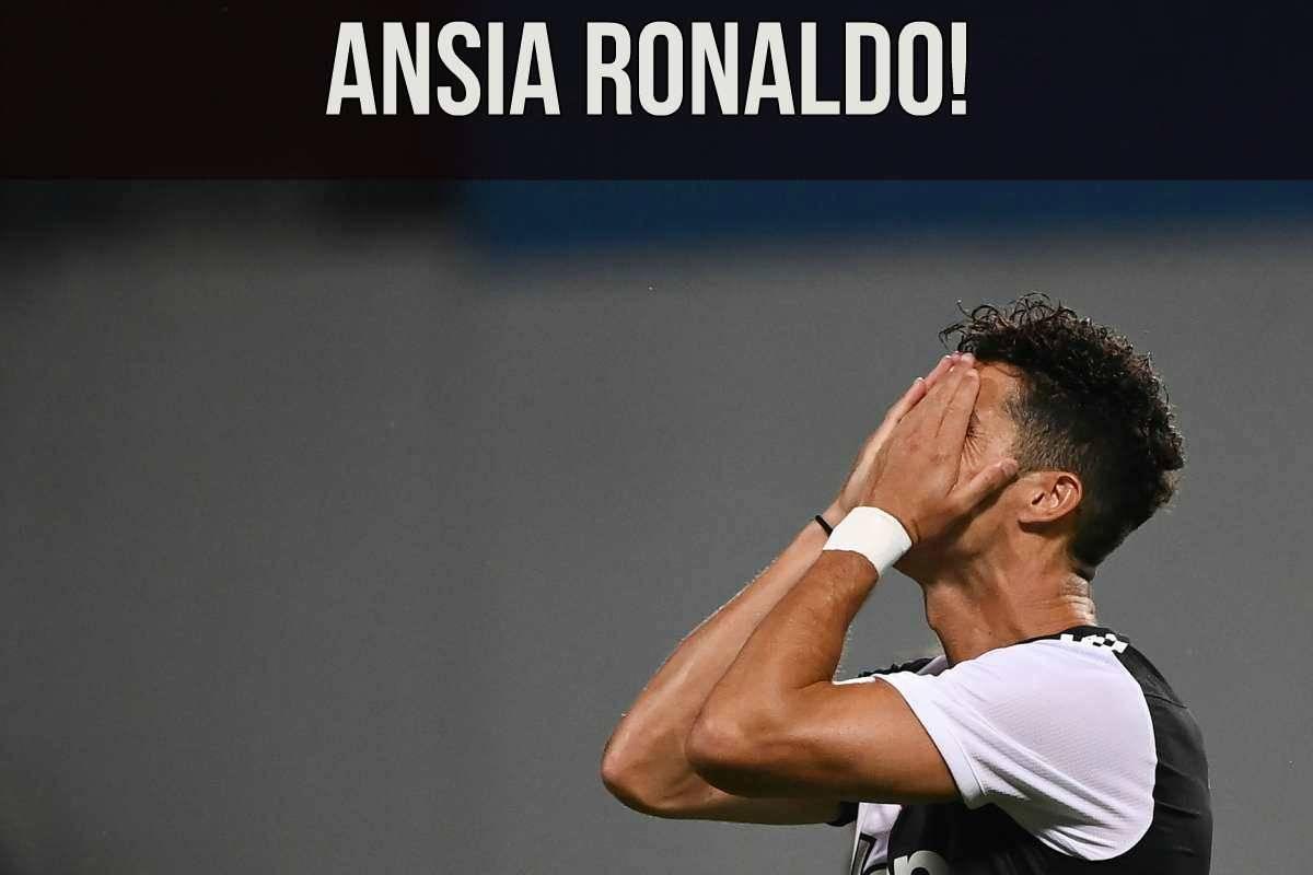 Juventus, tegola Ronaldo: ko con il Portogallo