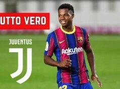 Ansu Fati Juventus