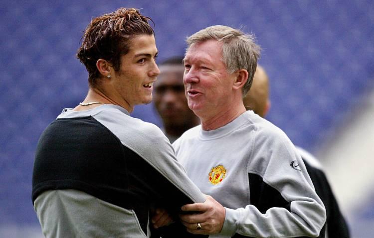 Cristiano Ronaldo Alex Ferguson