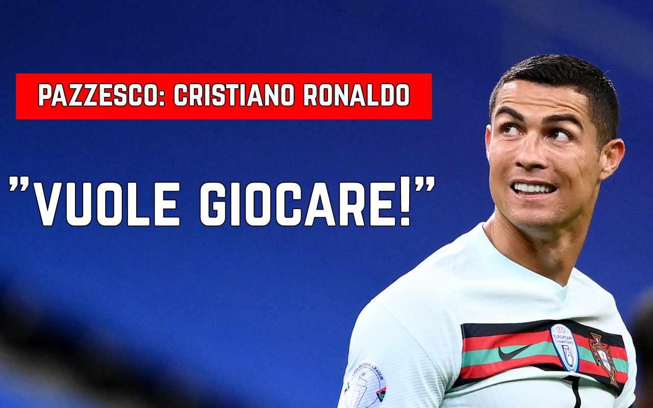 Cristiano Ronaldo vuole giocare