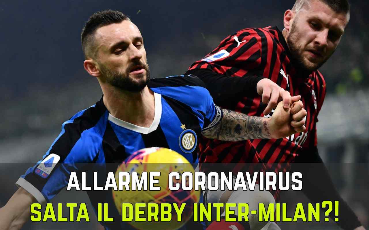 Derby Milano Coronavirus