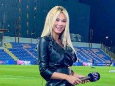 Diletta Leotta minigonna
