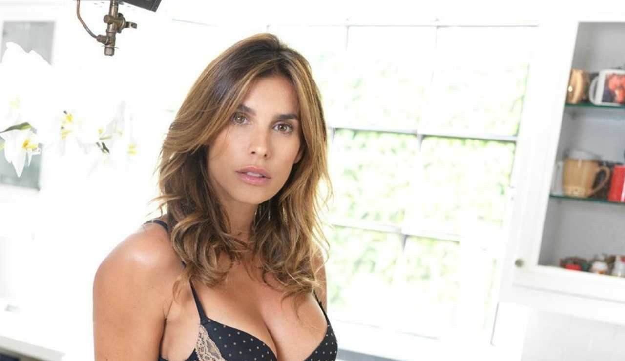 Elisabetta Canalis in intimo