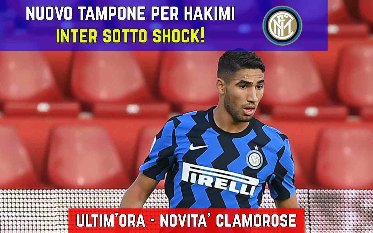 Inter tampone Hakimi