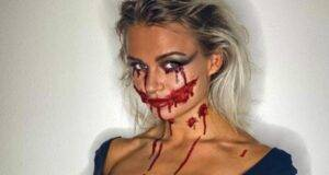 Mercedesz henger foto halloween