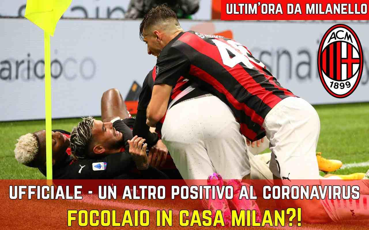 Milan, comunicato UFFICIALE: Gabbia positivo al Covid-19