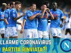 Napoli AZ Alkmaar rinviata