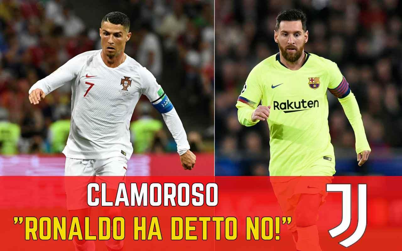 Ronaldo Messi Juventus