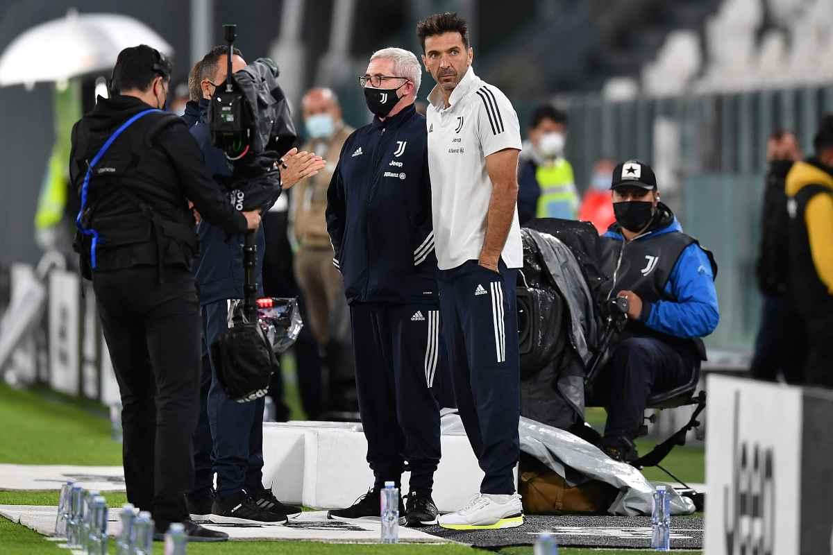 Buffon Juventus-Napoli