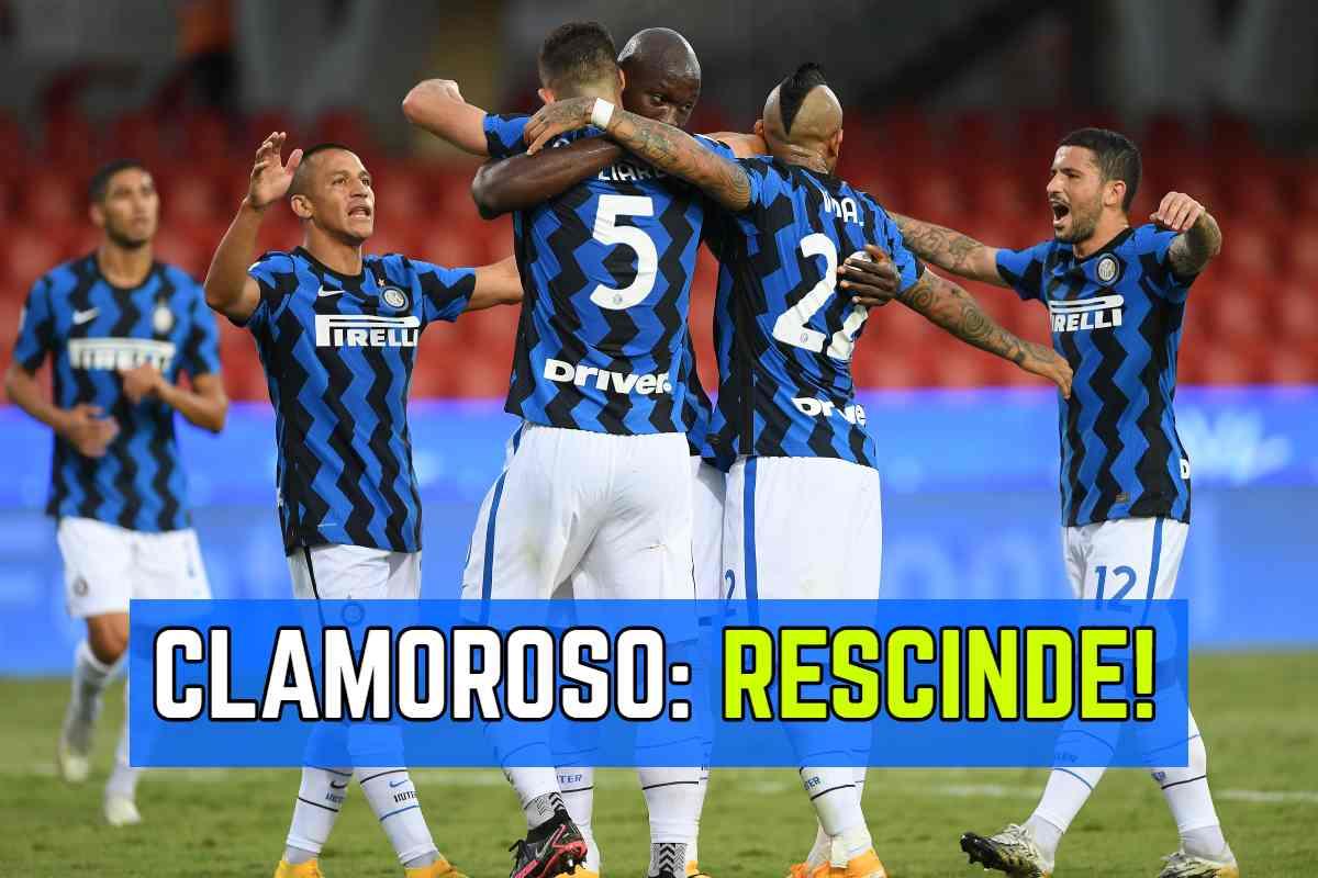 Calciomercato Inter Rescissione Dell Ultimo Minuto Un Big Saluta
