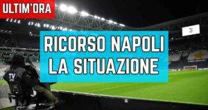 Juventus-Napoli ricorso