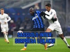 Lukaku Sassuolo-Inter