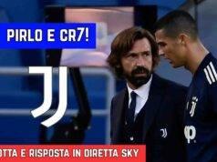 Juventus Pirlo Cristiano Ronaldo Sky