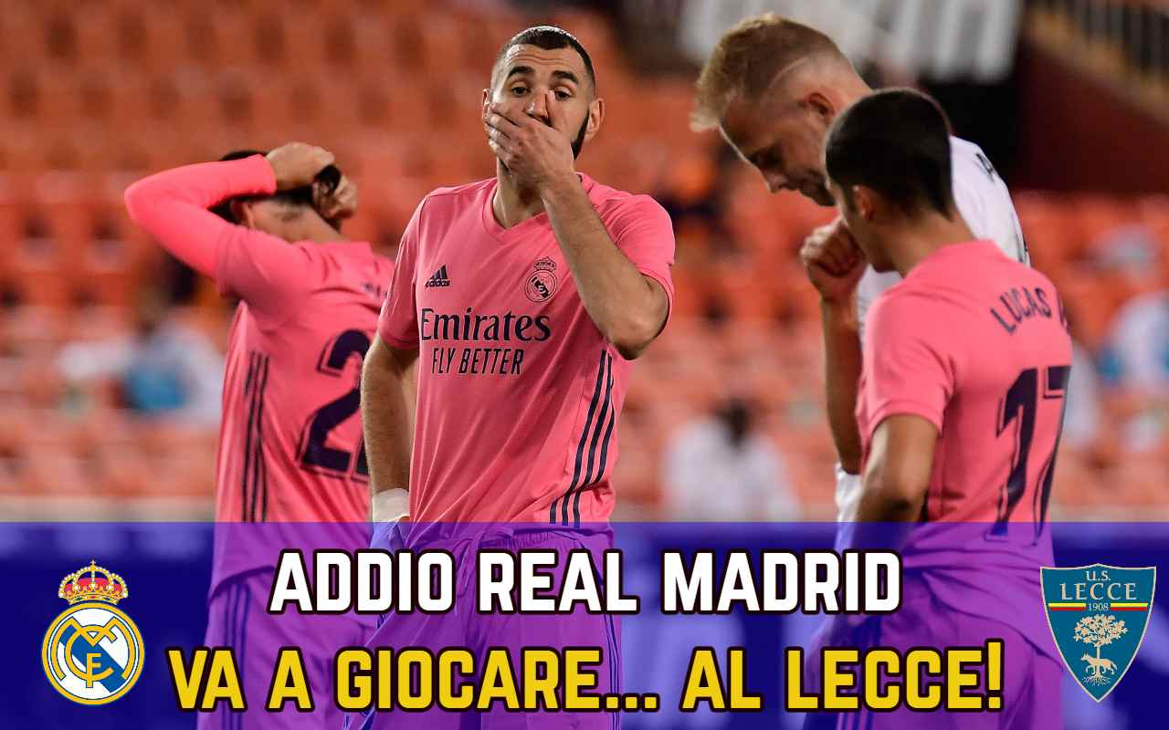 Real Madrid Lecce