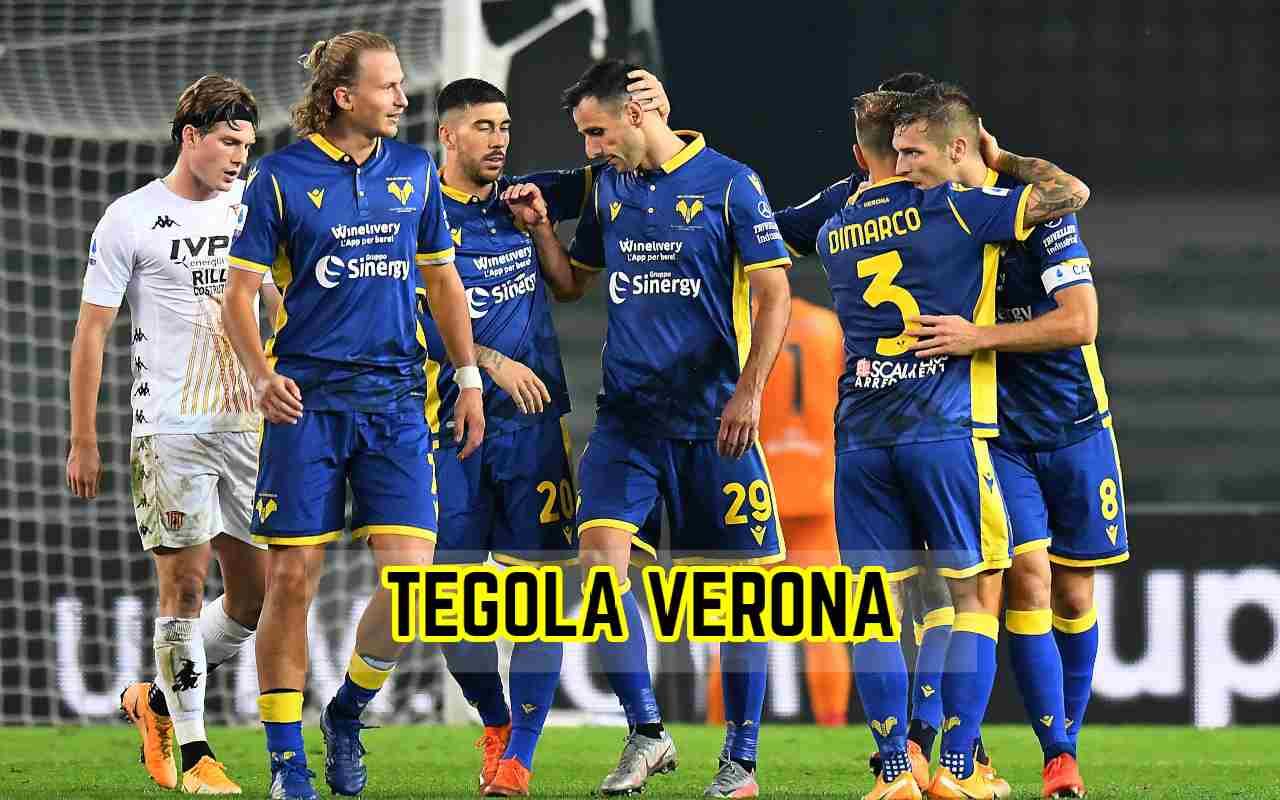 Verona infortunio GUnter