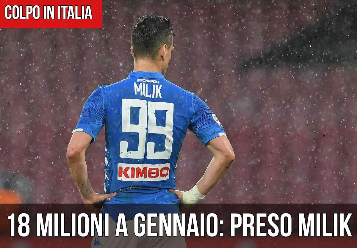 Top Calcio 24 rivela il bluff di Milik | Calciomercato | Calcio