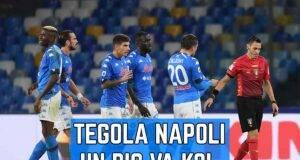 Infortunio Napoli