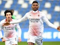 Leao gol Sassuolo Milan