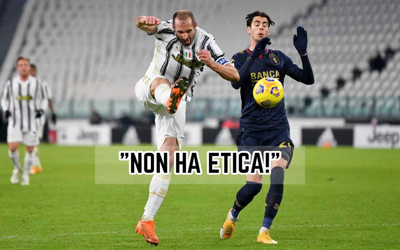 Juventus, Felipe Melo non si trattiene