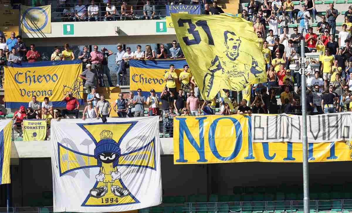 Chievo Verona Tifo