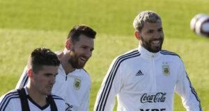 Messi e Aguero