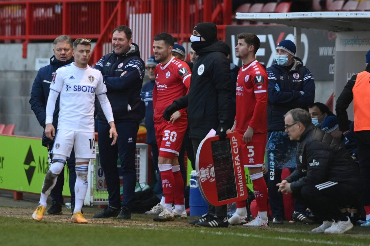 FA Cup Crawley-Leeds 3-0 Mark Wright