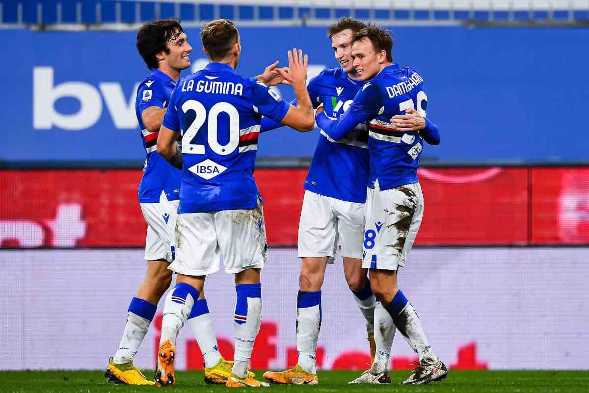 Damsgaard Sampdoria calciomercato