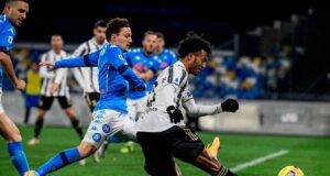 Cuadrado finito out contro il Napoli