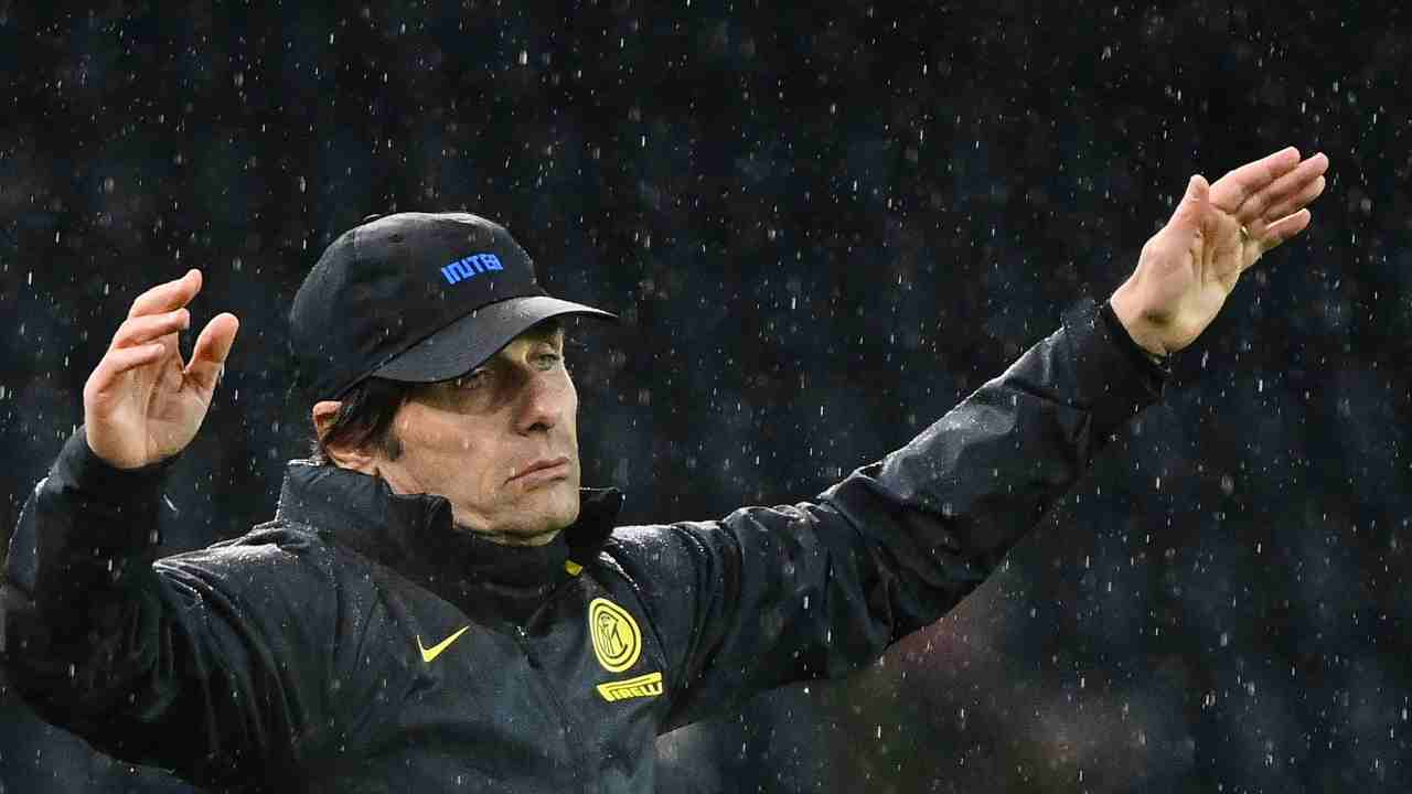 Inter Conte infortunio