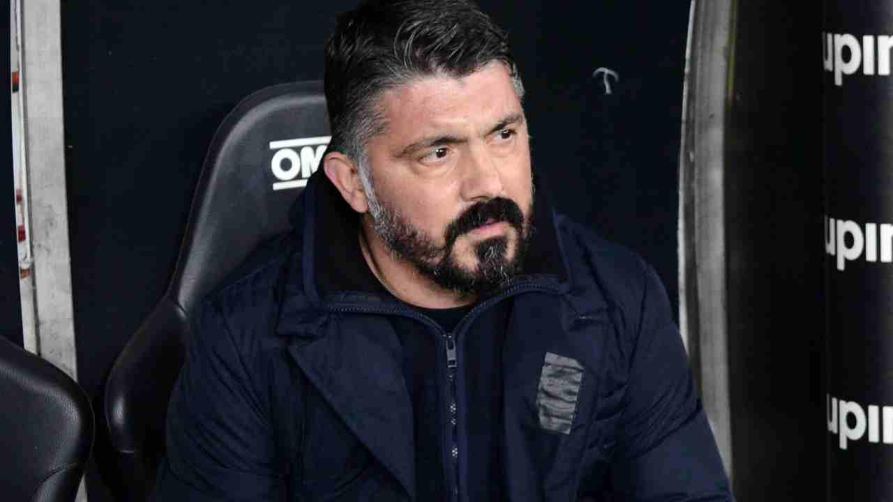 Napoli-Juventus Gattuso