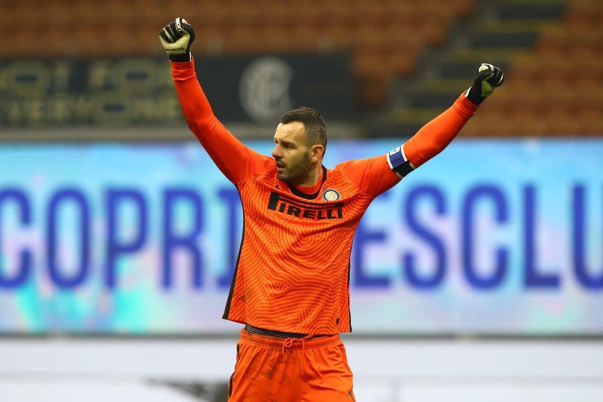 Handanovic lascia l'Inter