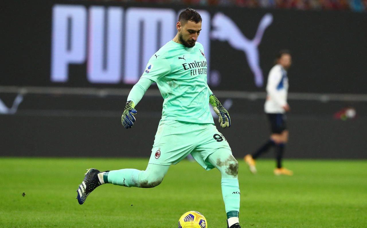 Donnarumma preoccupa il Milan