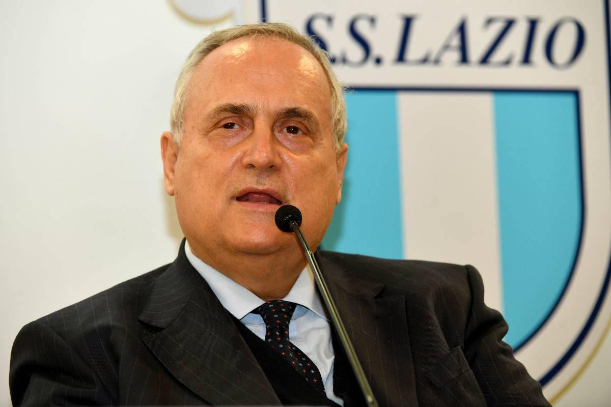 Lotito rischia grosso sulla questione tamponi Lazio